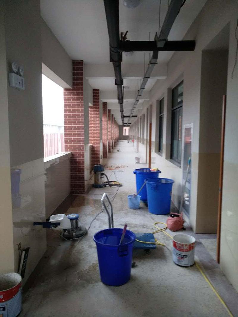 新开明中学60000平方即将完工
