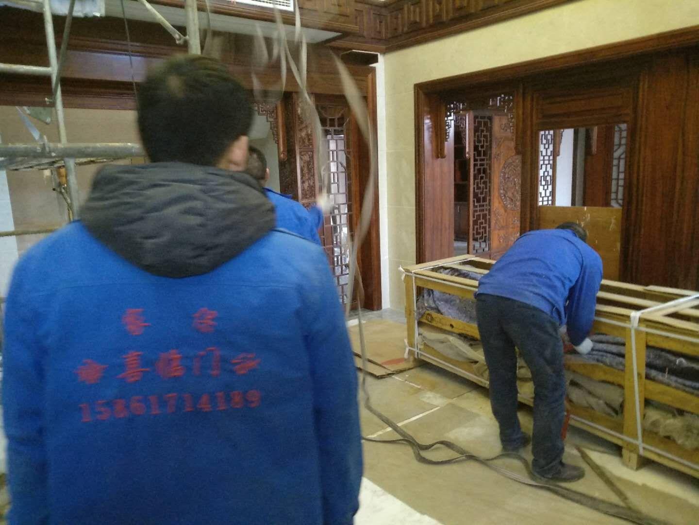 苏瑞安汽车实业有限公司价值1000万元左右家具搬运成功