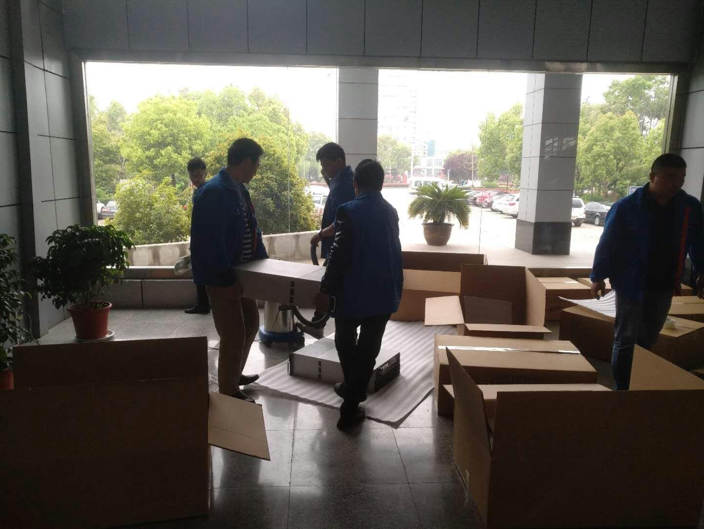 洪泽县公安局110指挥中心机房搬运工程